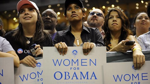 Women for bigger government, higher taxes