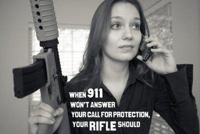 Guns are for self-defense against criminals